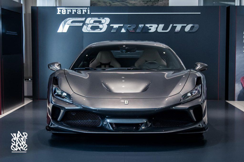 Ferrari, Ferrari F8 Tributo, Ferrari F8, Premiera Ferrari F8 Tributo, Ferrari Katowice
